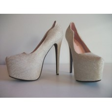 High Heel beige
